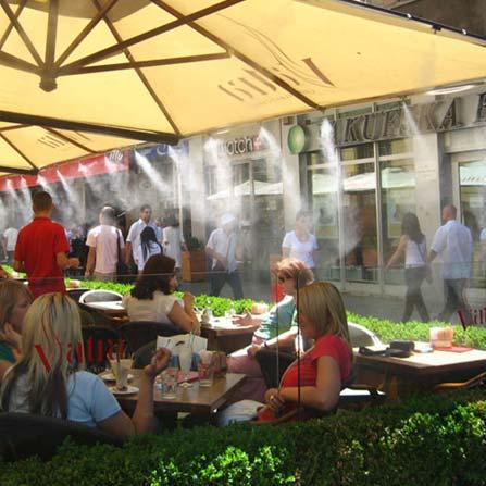 Туманообразование для ресторанов, кафе и баров